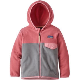 Patagonia Micro D Snap-T Jacket Children grey/pink